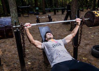 Man-tränar-för-viktökning