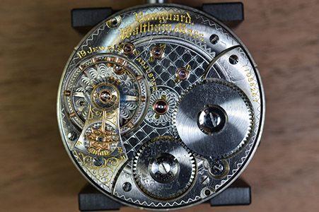 Mekanisk-klockrörelse